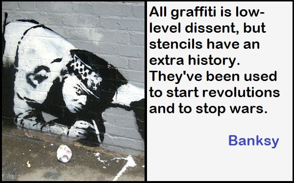 Inspirational Banksy Quotes Related