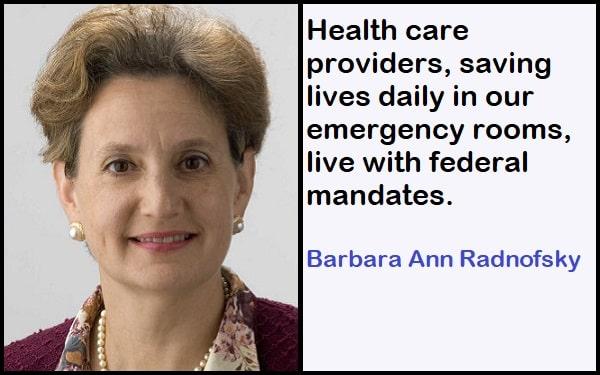 Inspirational Barbara Ann Radnofsky Quotes