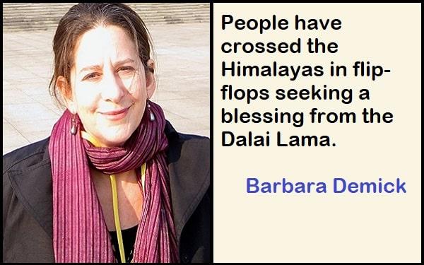 Inspirational Barbara Demick Quotes