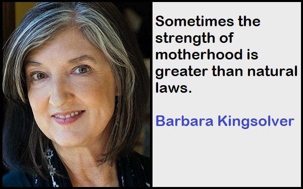Inspirational Barbara Kingsolver Quotes