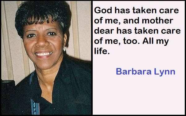 Inspirational Barbara Lynn Quotes